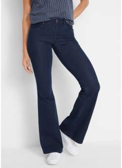 Soft-Stretch-Jeans, Flared, John Baner JEANSWEAR