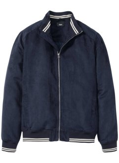 Bomberjakke i velour-look, bpc bonprix collection