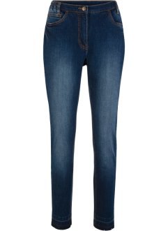 Jeans med frynsekant, 7/8-lang, bpc bonprix collection