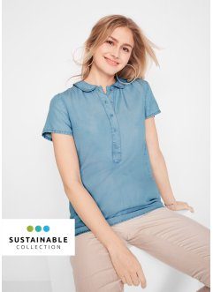 Bærekraftig bluse av TENCEL™ Lyocell, bpc bonprix collection