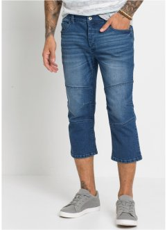 3/4-lang Stretch-Jeans Regular Fit, RAINBOW