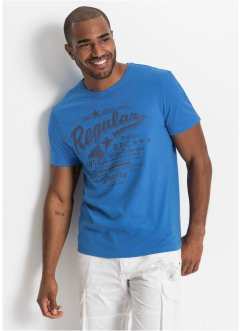 2-pack T-shirts med trykk, bpc bonprix collection