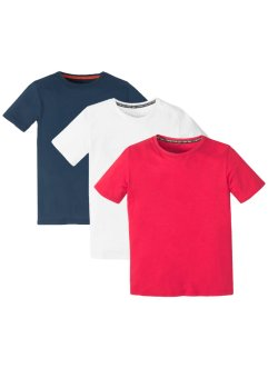 Basic T-shirt (3-pack), gutt, bpc bonprix collection