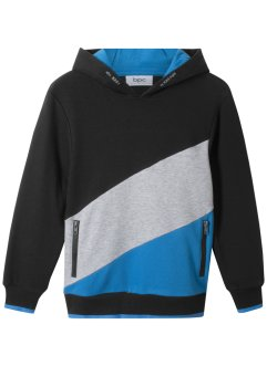Sweatshirt med hette i blokkfarger, bpc bonprix collection