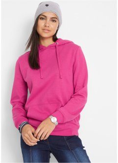 Basic sweatshirt med hette, bpc bonprix collection