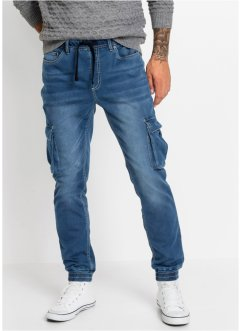 Termo-superstrechy pull on-jeans Slim Fit Straight, RAINBOW