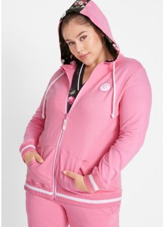 Sweatjakke med hette, Maite Kelly, bpc bonprix collection