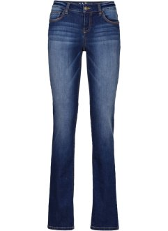Premium-Stretch-Jeans med T-400 Straight, John Baner JEANSWEAR