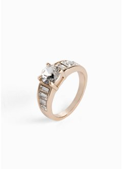 Ring dekorert med Swarovski® krystaller, bpc bonprix collection