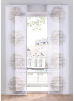 Transparent panelgardin med trykk (1-pack), bpc living bonprix collection