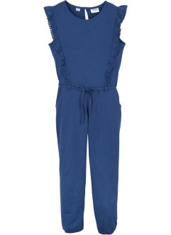 Jumpsuit til jente, økologisk bomull, bpc bonprix collection