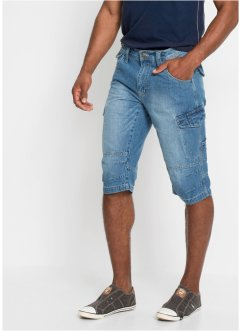 Jeans-Long-Bermuda, Loose Fit, John Baner JEANSWEAR