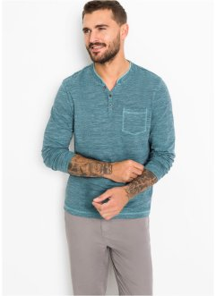 Henley topp, lang arm, bpc bonprix collection