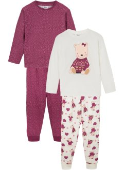 Pyjamas til jente (2-pack), bpc bonprix collection
