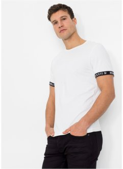 Moderne basic stretchy T-shirt, Slim Fit, RAINBOW