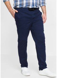 Regular Fit stretch-bukse med komfortsnittt, Tapered, bpc bonprix collection