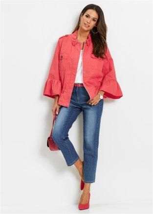 4ca11f4d Canvas-jakke med rysjer soft hummer - Dame - bpc selection - bonprix.no