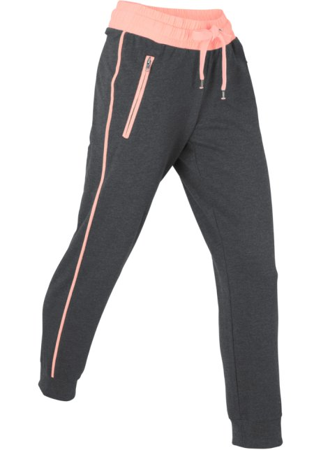 075b11ee lang collection melert Joggebukse bonprix sortneonlaks 78 bpc zqp18