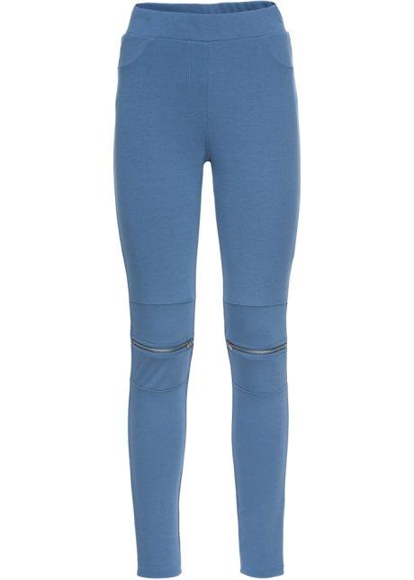 d80d712b Leggings med glidelås jeansblå - Dame - RAINBOW - bonprix.no