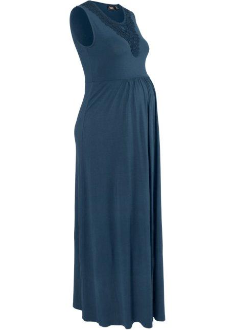d59c8e0a Mammakjole i trikot, lang mørkblå - bpc bonprix collection kjøp ...