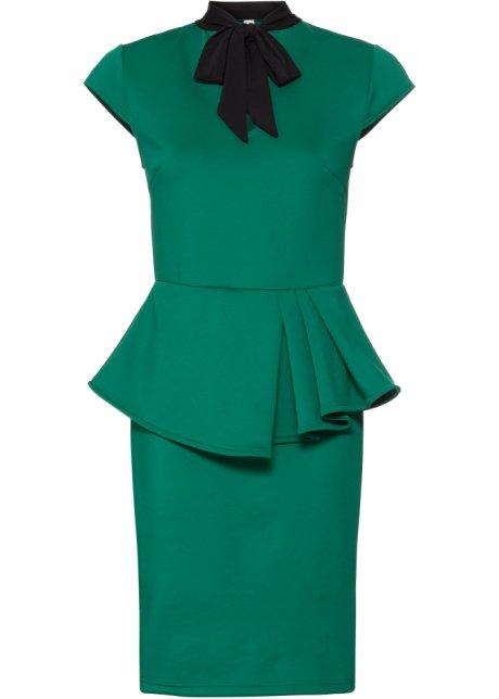 acb89d01 Kjole mørk grønn - BODYFLIRT boutique bestill online - bonprix.no