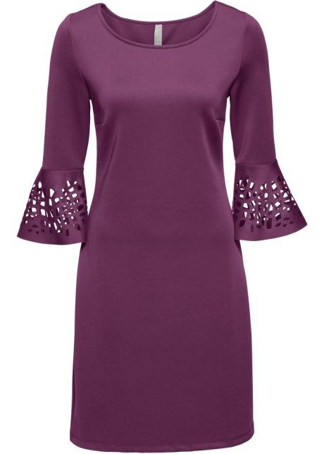 18ee2682 Kjole med cut-outs mørk lilla - BODYFLIRT boutique bestill online ...