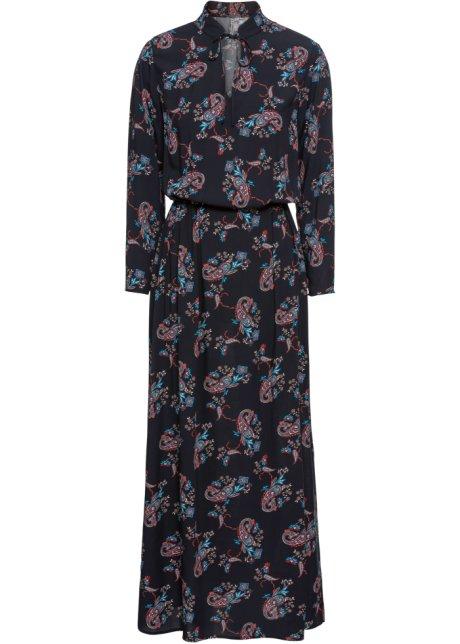85a78743a12c Maxi-kjole med paisleytrykk