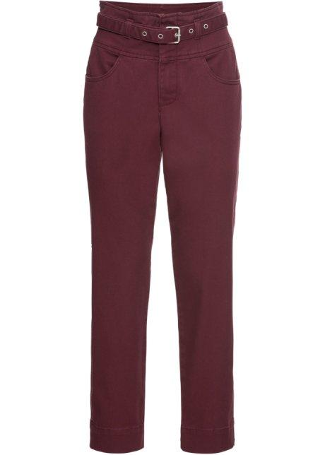 Ankellang bukse med belte