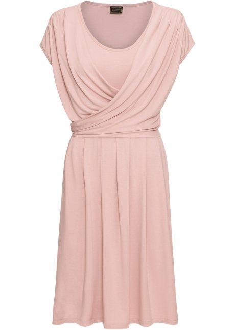 bf95e13958f4 Kjole lys rosa - RAINBOW bestill online - bonprix.no