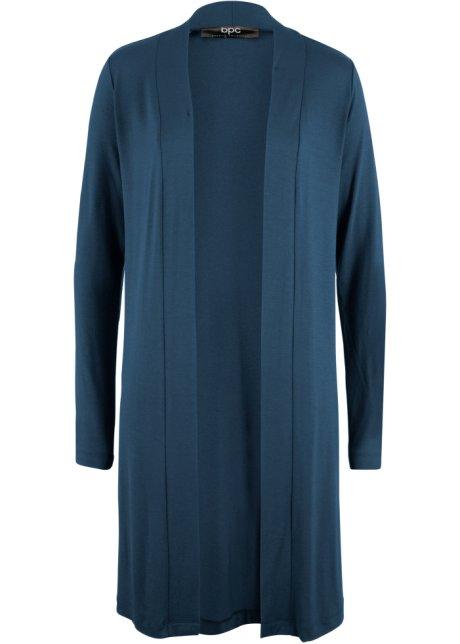 8551b243 Lang trikotjakke mørkblå - bpc bonprix collection kjøp online ...
