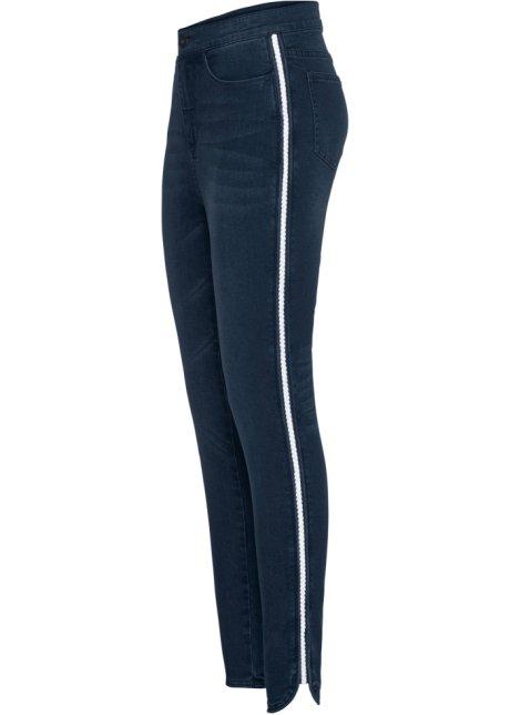 Super Skinny Jeans, forkortet, med glitter