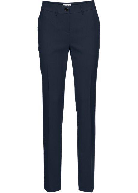 Elegant business bukse med buksepress sort