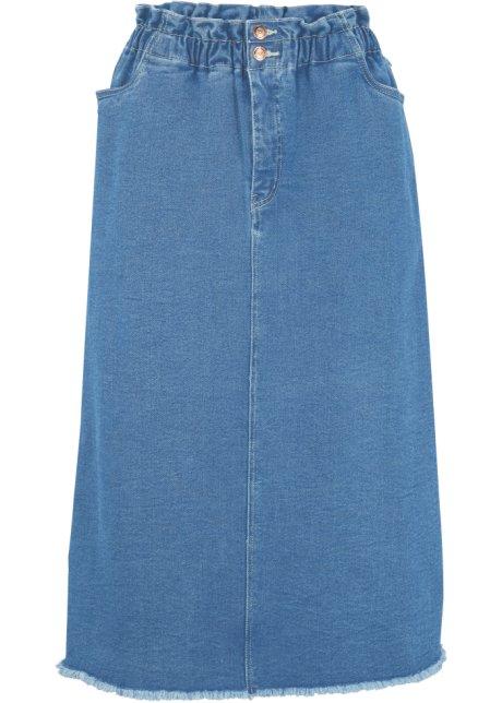 Paperbag jeans skjørt fra Maite Kelly
