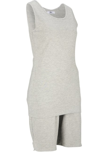 topp og bukse sett grå