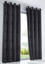 Formørkningsgardin i jacquard (1-pack), bpc living bonprix collection