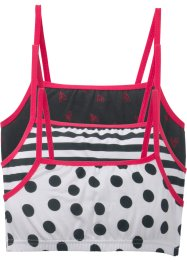 Bustier (3-pakning), bpc bonprix collection
